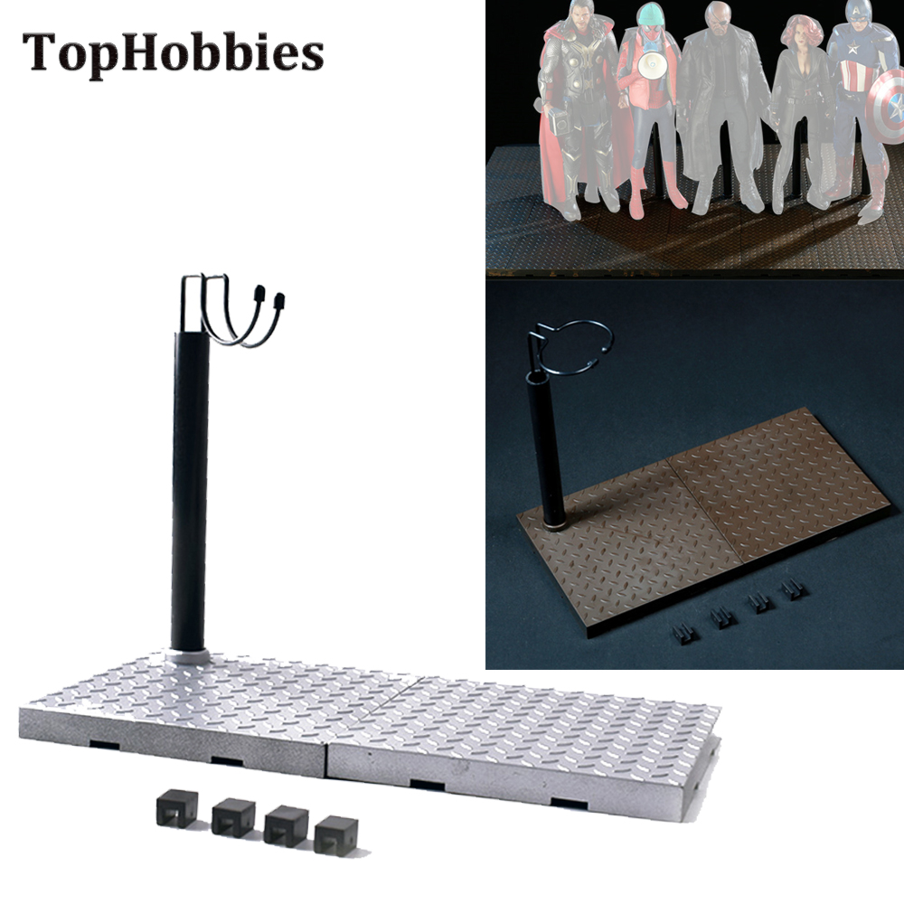 1 6 Unlimited Expansion Scene Platform Bracket W Stand display Scale 1 6 Scene Accessoires for 12 Inch Soldier Action Figure in Action Toy Figures from Toys Hobbies