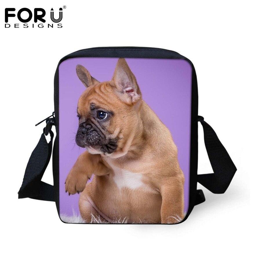 FORUDESIGNS/женская маленькая сумка через плечо с объемным рисунком собаки чихуахуа, модные женские сумки-мессенджеры, сумки через плечо - Цвет: H369E