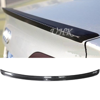 UHK For Audi 2009 2012 Accessories A4L B8 Carbon Fiber Rear Spoiler Trunk Spoyler Wing Car Racing Auto Air Wing Boot