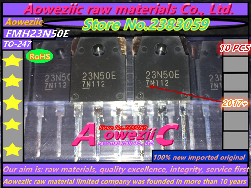 Aoweziic 100% new imported original FMH23N50E 23N50E TO-247 MOS tube N channel 23A500V is often used in power supply original supply 3138 158 64202 me5p 23 3138 6254 3 used disassemble