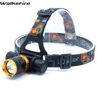 XML-T6 LED 3800 Lumens 5-Mode Dive Waterproof Scuba Diving Headlamp Headlight Underwater work Flashlight torch Light lamp