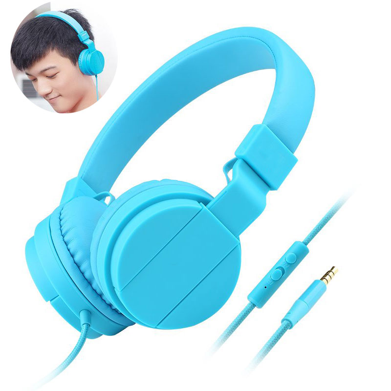 ФОТО Fashion Foldable Headphone Portable Game Stereo Headsets Headphone earphone With MIC headphone headset for Iphone6/6S S6 tablet