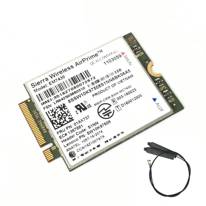 Sierra Em7430 Fdd/tdd-lte 4g Modul Für Thinkpad X270 X1 Carbon Faser 5th Generation X1 Yoga Tablet Gen 2 01ax737 20hq, 20hr