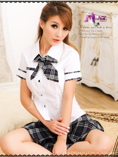 Foreign Trade Japan and South Korea game uniforms sexy underwear sets Japanese school uniforms student services role-playing sex