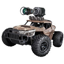 RC Cars 1:18 Off-Road Racing Car TPR 2.4GHz Steering High Speed WITH camera 720p Kids Trucks Best gift