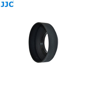 Image 4 - JJC Universal 3 in 1 Collapsible Silicone Lens Hood 46mm 49mm 52mm 55mm 58mm 62mm 67mm 72mm 77mm  Camera Lens Protector