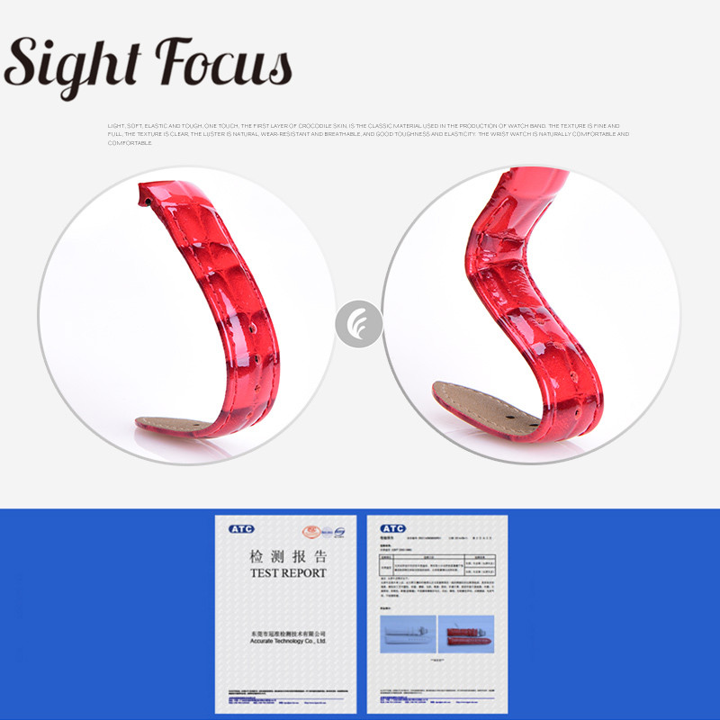 Image 2 - 18mm Patent Leather Ladies Watch Strap for Tissot Watch Bands 1853 Woman Bracelets Clock Female Belts for Couturier T035210 207-in Watchbands from Watches