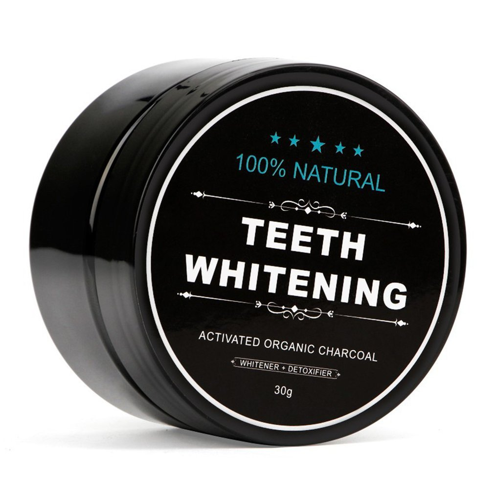 30g 100% Natural Teeth Whitening Whitener Activated Organic Charcoal Powder Polish Teeth Clean Strengthen Teeth Health Care цена