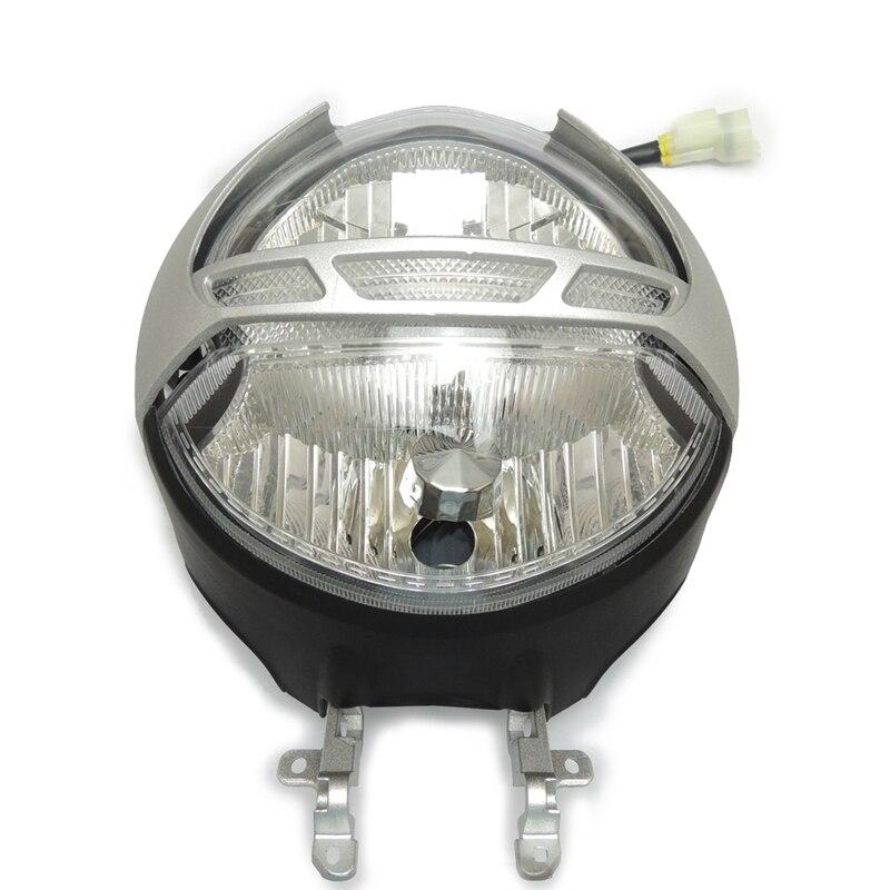 Мотоцикл полный комплект главных фар для Дукати монстр 696 2009 2010 2011 передний головной свет четкие Новый