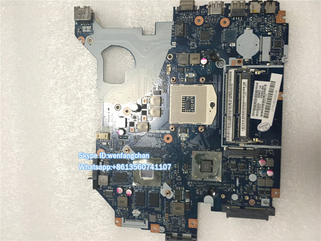 Free shipping MBRCG02006 P5WE0 LA-6901P Laptop motherboard for Acer Aspire 5750 5750G MB.RCG02.006 nvidia GT540M DDR3 Mainboard