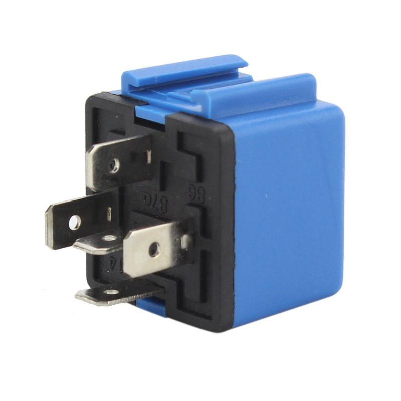 CNSPEED 10pcs DC 24V 40A 5 Pin Blue Car Power Flasher Car Power