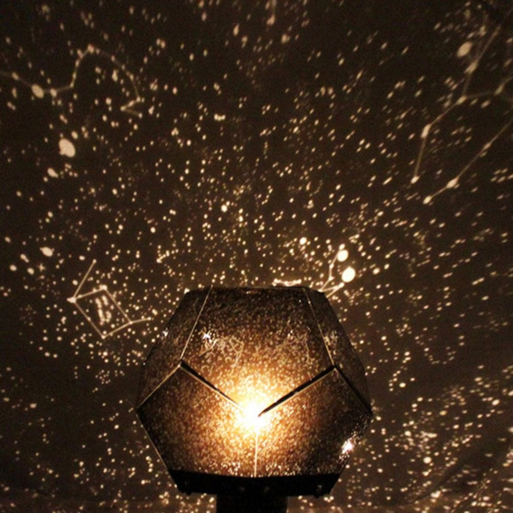 Starry Sky Projector Light Cosmos Four Seasons Constellation Stars Projection Lamp Romantic Night Lamp Drop Shipping
