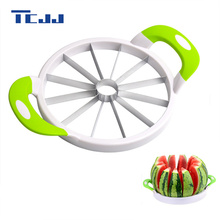 Runde Wassermelone Messer Hobel Cutter Küche Schneidwerkzeuge obstmesser für wassermelone Küche zubehör gadgets