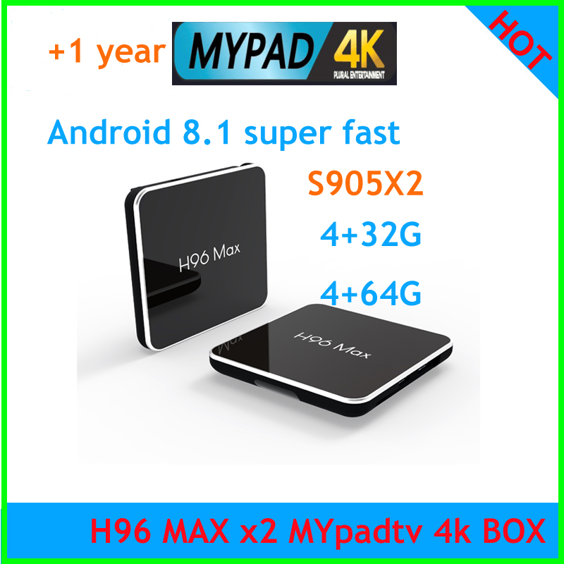 NEW ARRIVAL 2019 H96 MAX X2 Android 8 1 Amlogic S905X2 Smart TV BOX malaysia mypadtv