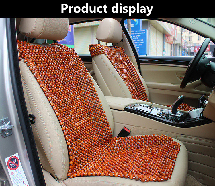 Wooden bead car seat cover outdoor herb garden kit