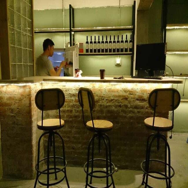 Style Loft Industriel En Fer Forge Bar Chaises De Bar Telesiege Elm