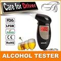 Promoção chaveiro profissional respiração polícia Digital Alcohol Tester bafômetro Analyzer Detector de áudio alerta frete grátis