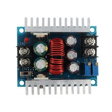1PC DC 6-40V To 1.2-36V 300W 20A Constant Current Adjustable Buck Converter Step-Down Module Board With Short Circuit Protection