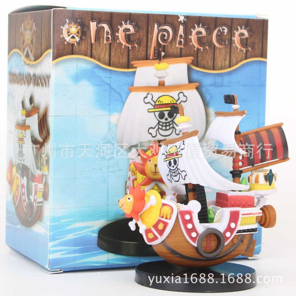 Just 1pcs/lot 15cm Meli Pirate Wanli Sunshine No.5 Pirate Boat Base Cake Toys Christmas Gifts For Children Models Toys Box Package Toys & Hobbies