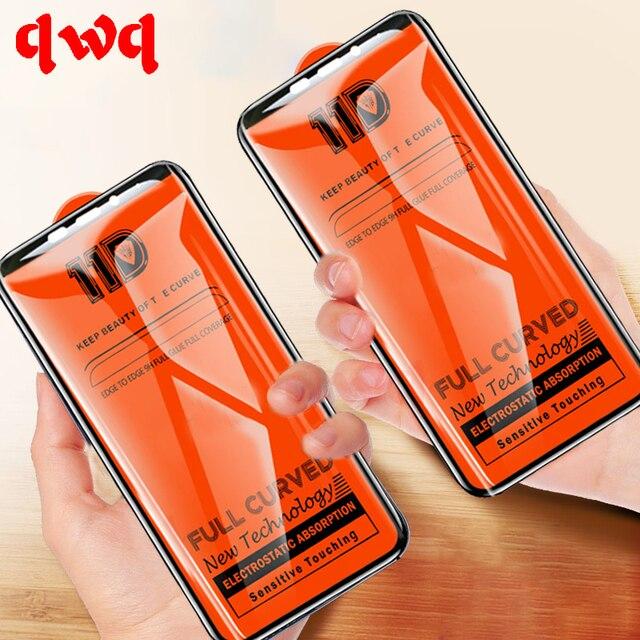 11D полное защитное закаленное Стекло для Xiaomi mi A2 9 Honor 8 Lite A1 6X 5X Экран протектор на Red mi Note 7 6 Pro 5 6A Стекло