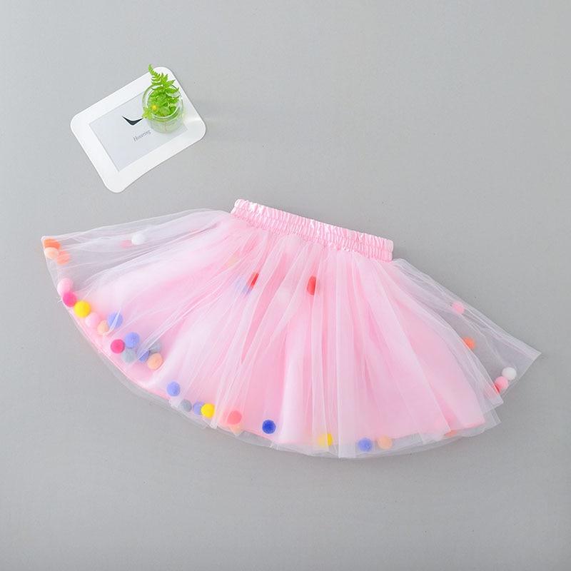Infant Tutu Skirt Baby Girls Mini Dress with Balls Girls Tutu Skirt Princess Party Ballet Dance