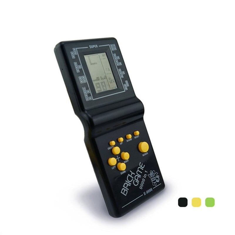 INBEAJY Retro clásico de la infancia Tetris de juego de los jugadores electrónico LCD Juegos Juguetes Juegos de consola de juego acertijo juguetes educativos