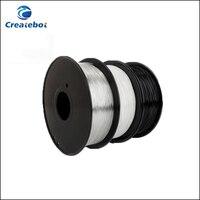 Transparent Black White PETG 3D Printer Filament 1 75mm 3mm 1kg Spool Plastic Material