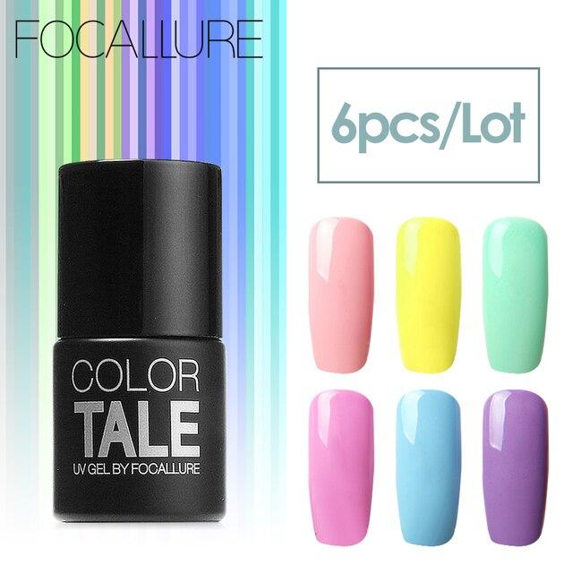 Focallure 12ml soak off nail polish long lasting nail art gel focallure 12ml soak off nail polish long lasting nail art gel manicure with uv led prinsesfo Choice Image