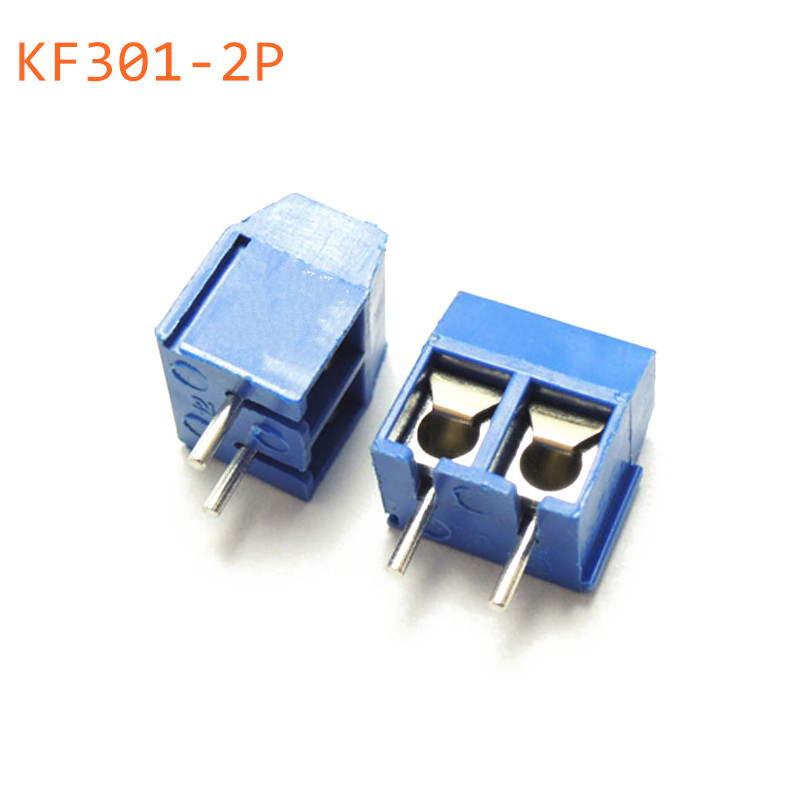 10 PCS KF301-5.0-2P KF301-3P Pitch 5.0mm KF301-2P Straight Pin PCB 2 Pin 3 Pin Screw Terminal Block Connector iceberg iceberg ic461cwjgx40