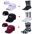 Harajuku Tide Thrasher Cap Men Solid Color Embroidery Letter Baseball Caps Outdoor Sports Sunscreen Hats For Men & Women 370