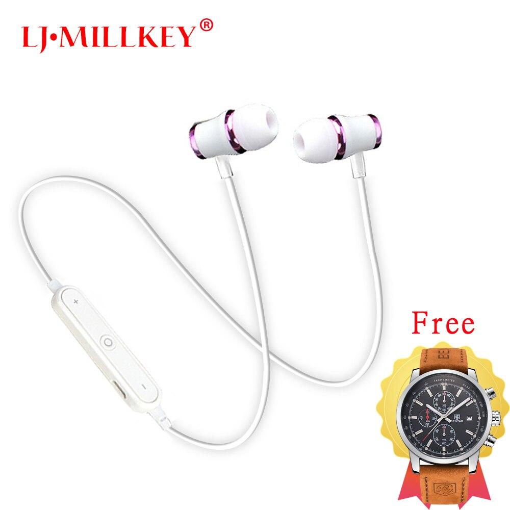 Bluetooth наушники Спорт стерео высокой верности в ухо наушник супер бас музыкальный смартфон спорт гарнитура с микрофоном HD001