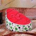 FRETE GRÁTIS assento de bebê com 2 pcs vermelho up cobre feijão bebê cadeira do saco de feijão tampa de assento do saco de feijão osso preguiçoso saco de feijão miúdo cadeira