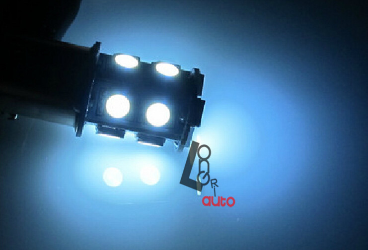 W21/5W 580 7443 T20 WHITE 13 SMD LED STOP TAIL CAR BULBS 20 13 5