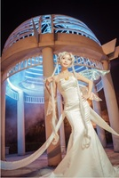 Free shipping! Sailor Moon queen/Princess Serenity Tsukino Usagi Cosplay Costume withe dress