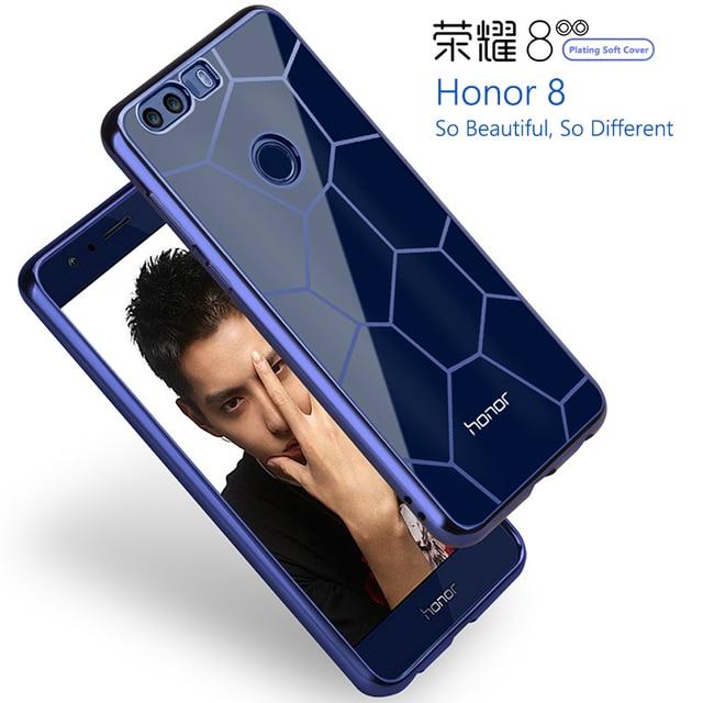 2017 Новое поступление мобильного телефона Корпуса Защитная крышка мягкого силикона анти-падения покрытие корпус смартфона для Huawei Honor 8 5.2 дюймов