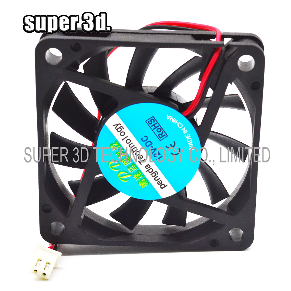 6015 Cooling Heatsink Fan 12V 24V with Dupont Wire Brushless 60mm 60*60*15 mm 3D Printers Parts Cooler Radiator Quiet