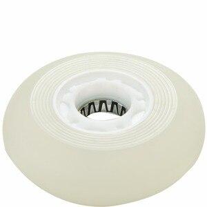 Image 5 - 5 colori Lampeggianti di Luce Ruote Da Skate Roller Inline Scorrevole Flash PU Ruote Da Skate Roller 80mm 90A senza Cuscinetti