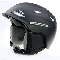 PROPRO New One Piece High End Ski Helmet Helmet Warm Hat Snow Skiing Essential Veneer Double