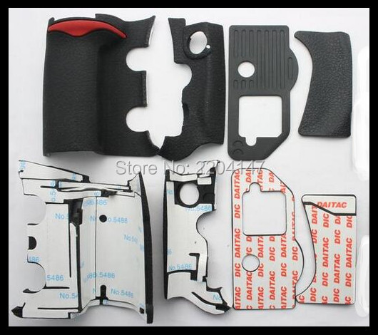 New un set di 4 pezzi grip unità di gomma della copertura per nikon d300s fotocamera digitale corpo guscio in gomma + nastro