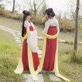 2016 новое поступление срок годности полиэстер женщины танцевальные костюмы хмонг одежды древние китайские платье хан костюм