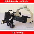 New 2.5X Medical ophthalmology dental surgical hight intensity big power led headband light with Loupes ENT product