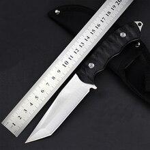 CHACHEKA 2 типа головы 5Cr15Mov Нержавеющая сталь фиксированным лезвием Прямой нож с нейлоновой оболочкой Открытый Охотничьи ножи инструменты для выживания