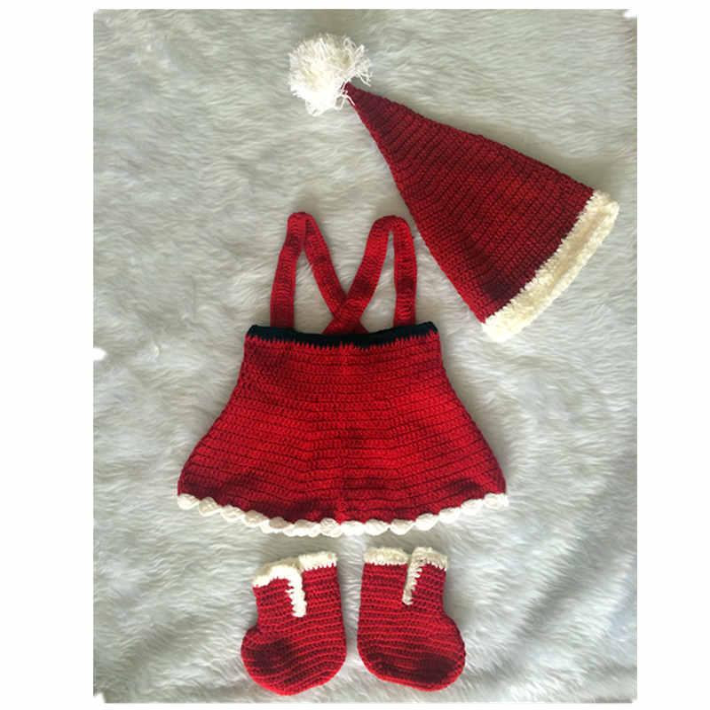 Kapelë fëmijësh prej 100% pambuku të bërë me kapelë për fëmijë kapelë për vjeshtë dhe dimër fije fotografie për fijet e foshnjës. Një kapelë për Krishtlindje, një set për bebe për Krishtlindje,