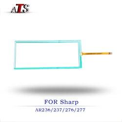 Ekran dotykowy panel dla Sharp AR 236 237 266 267 276 277 kompatybilna kopiarka części zamienne AR236 AR237 AR266 AR267 AR276 AR277 w Części drukarki od Komputer i biuro na