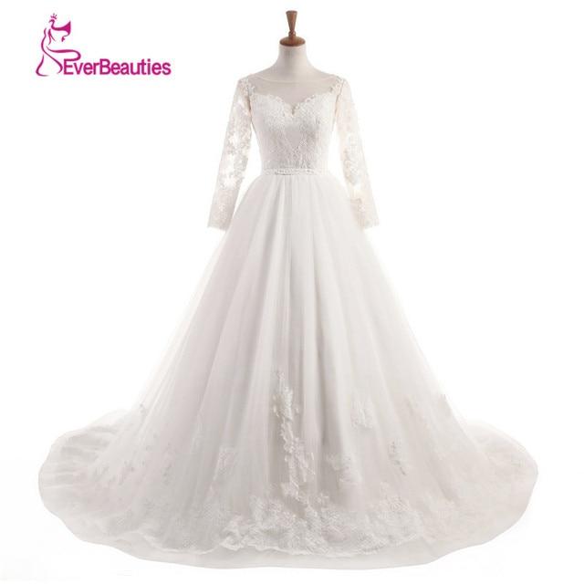 Vestido De Noiva De Renda Wedding Dress 2019 Elegant Bridal Gowns Backless Lace  Princess Custom Made Vestidos De Novia 4dfa434802d3
