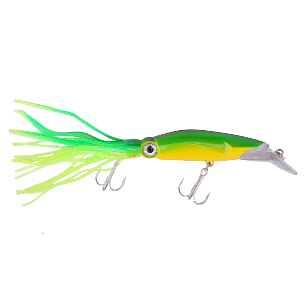 1PCS New Arrival Big Game Fishing lures 14cm 40g fishing tackle 6 Colors available Squid lures fishing Bait 5pcs glow in dark luminous squid cuttlefish fishing lures tackle jig bait hooks jun13