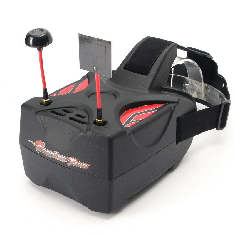 In Stock Eachine Goggles Two 5 Inches 5 8G Diversity 40CH Raceband HD 1080p HDMI FPV