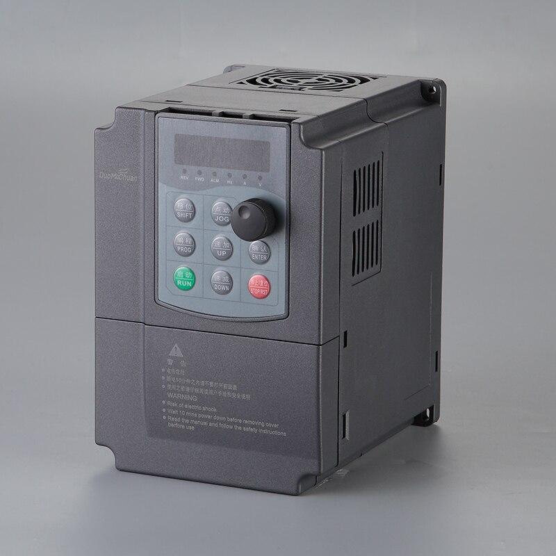 DMC600G général VFD 0.75kw 1.5kw 2.2kw 4kw entrée 380 V 3 phases sortie 380 V convertisseur de fréquence convertisseur variateur de fréquence