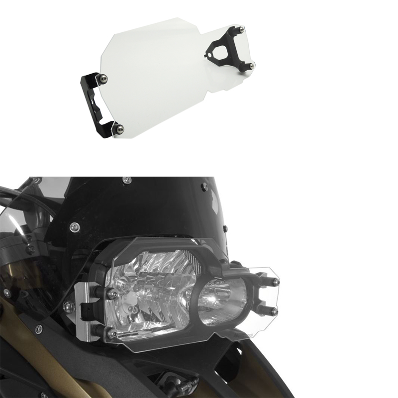 Headlight Cover Protector For BMW F800GS F700GS F650GS Twin Headlight Guard Clear areyourshop sale rear abs sensor protective guard cover fit for bmw f800gs adv f700gs f650gs twin
