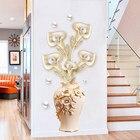 60*130cm 3D Vase Wal...